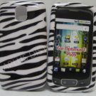 New Black & White Zebra Design Hard Protective Cover For LG Optimus T P509