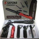 NEW SAYONA HAIR CARE SERIES 4 IN 1 - Red & BLK