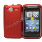 New Red Solid Color Hard Rubberized Case Cover For HTC Evo Shift 4G