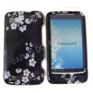 New Blue Midnight Flower Design Hard Protective Case Cover For HTC G2 4G - Vanguard