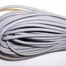 Braided Elastic Cord.(COLOR:GRAY) AUTO,HOME,CRAFTS.