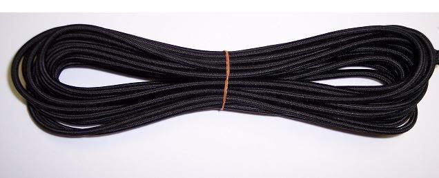 Bungee Cord, Shock Cord, Elastic Cord,CRAFTS, BLACK.