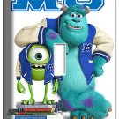 MONSTERS UNIVERSITY MIKE SULLY SINGLE LIGHT SWITCH COVER KIDS BEDROOM WALL ART