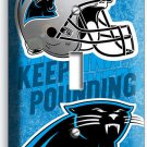 CAROLINA PANTHERS FOOTBALL TEAM SINGLE LIGHT SWITCH WALL PLATE BOY ROOM MAN CAVE
