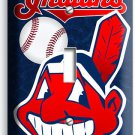 CLEVELAND INDIANS BASEBALL SINGLE LIGHT SWITCH WALL PLATE COVER SPORT ROOM DECOR