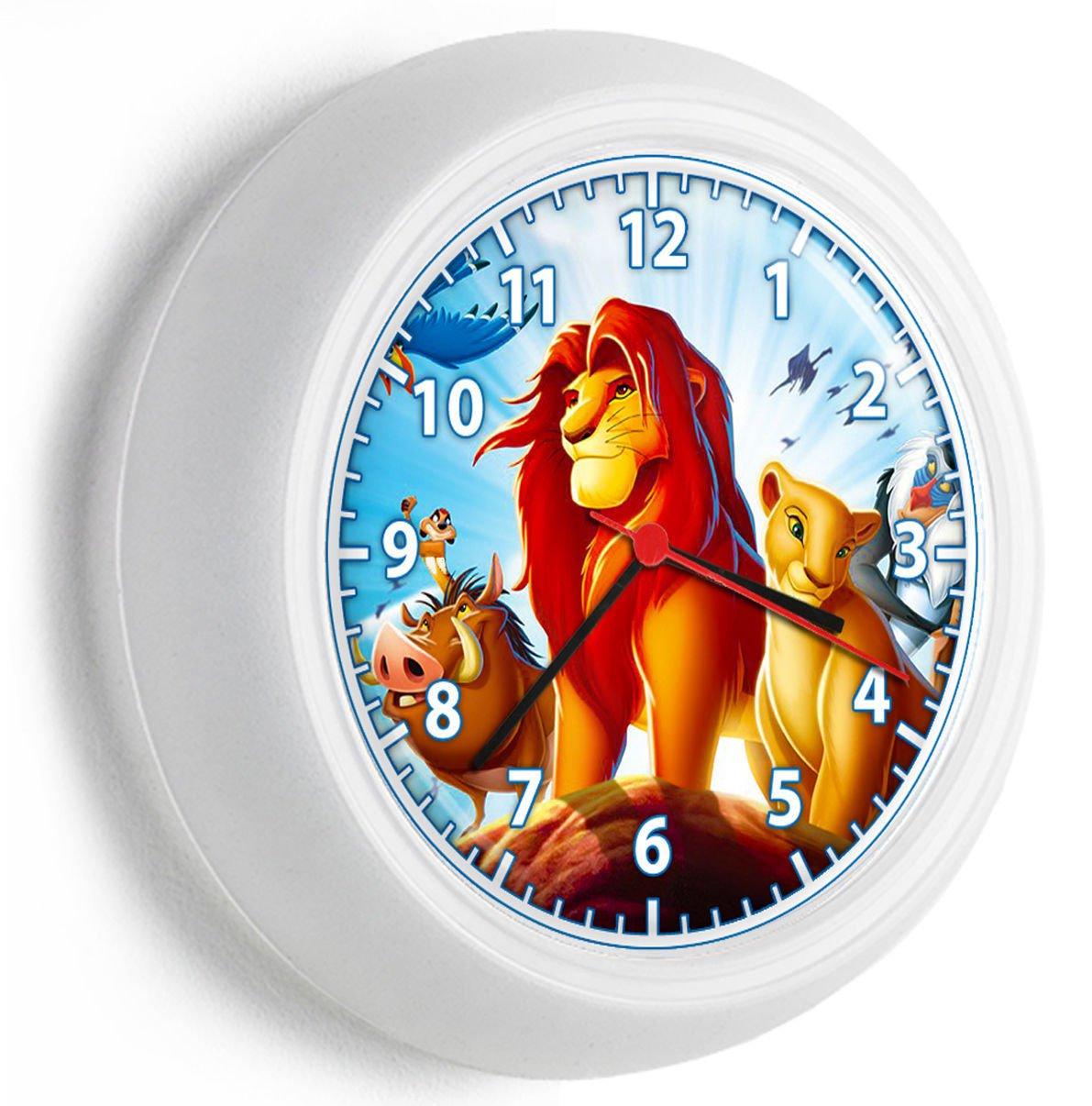 LION KING SIMBA NALA TIMON AND PUMBA WALL CLOCK GIRLS BOYS BEDROOM BEDROOM DECOR
