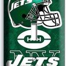 NY NEW YORK JETS NFL FOOTBALL TEAM SINGLE LIGHT SWITCH WALL PLATE BOYS BEDROOM