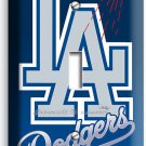 LA LOS ANGELES DODGERS MLB TEAM LOGO SINGLE LIGHT SWITCH WALL PLATE COVER DECOR