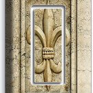 ROYAL FLEUR DE LIS SINGLE GFCI LIGHT SWITCH WALL PLATE SWITCH COVER ROOM DECOR