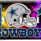 DALLAS COWBOYS NFL FOOTBALL TEAM LOGO TRIPLE LIGHT SWITCH WALL PLATE COVER DECOR