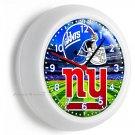 NEW YORK GIANTS NFL FOOTBALL TEAM LOGO WALL CLOCK MAN CAVE BEDROOM GARAGE DECOR