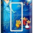 PRINCESS CINDERELLA GFI LIGHT SWITCH COVER WALL PLATE GIRL'S PLAY ROOM BEDROOM