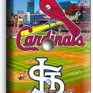 ST LOUIS CARDINALS BASEBALL TEAM LIGHT DIMMER CABLE WALL PLATE COVER ROOM DECOR