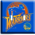 GOLDEN STATE WARRIORS BASKETBALL TEAM DOUBLE LIGHT SWITCH WALL PLATE MAN CAVE