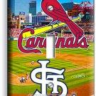 ST LOUIS CARDINALS MLB BASEBALL TEAM SYMBOL SINGLE LIGHT SWITCH WALL PLATE COVER