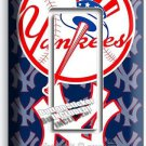 BASEBALL NEW YORK YANKEES TEAM LOGO SINGLE GFI LIGHT SWITCH GAME ROOM HOME DECOR