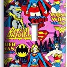 SUPERGIRL BATGIRL WONDER WOMAN GIRL BEDROOM SINGLE LIGHT SWITCH WALL PLATE COVER