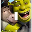 SHREK AND DONKEY SINGLE LIGHT SWITCH COVER WALL PLATE KIDS PLAY GAME ROOM DECOR