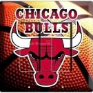 CHICAGO BULLS NBA BASKETBALL CHAMPIONS DOUBLE GFI LIGHT SWITCH WALL PLATE COVER
