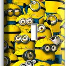 CUTE FUNNY YELLOW MINIONS SINGLE LIGHT SWITCH PLATE BOYS KIDS CHILD GAME ROOM