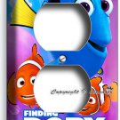 FINDING DORY PINK JELLYFISH NEMO DUPLEX OUTLET WALL PLATE GIRLS BOYS ROOM DECOR