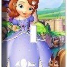 PRINCESS SOFIA THE FIRST 1ST LIGHT SWITCH PLATE CHILDREN'S GIRLS ROOM BEDROOM