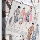 RETRO FASHION MAGAZINE PAGES PHONE WALL PLATE COVER NEW BOUTIQUE SHOP ROOM DECOR