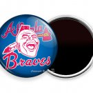 ATLANTA BRAVES BASEBALL TEAM INDIAN TOMAHAWK CHIEF FRIDGE REFRIGERATOR MAGNETS