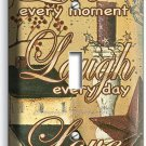 LIVE LAUGH LOVE SINGLE LIGHT SWITCH WALL PLATE COUNTRY DECOR LIVING ROOM BEDROOM