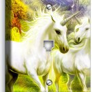MAGICAL UNICORN PHONE TELEPHONE WALL PLATE COVER WHIMSICAL FANTASY ROOM NY DECOR