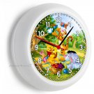 WINNIE THE POOH PIGLET TIGGER EEYORE WALL CLOCK BEDROOM BOYS GIRLS ROOM NY DECOR