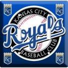 KANSAS CITY ROYALS KC BASEBALL MLB DOUBLE LIGHT SWITCH WALL PLATE COVER SPORT NY