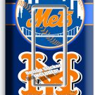 NEW YORK METS BASEBALL TEAM SINGLE GFCI LIGHT SWITCH WALL PLATE COVER BOYS ROOM