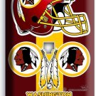 WASHINGTON REDSKINS FOOTBALL PHONE TELEPHONE WALL PLATE COVER BOYS BEDROOM DECOR