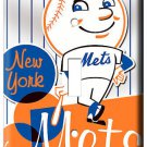 NEW YORK METS NY BASEBALL MLB SINGLE LIGHT SWITCH PLATE GAME TV ROOM DECORATION