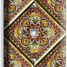 TUSCAN KITCHEN TILE PRINT PHONE JACK TELEPHONE WALL PLATE ART COVER HOME DECOR