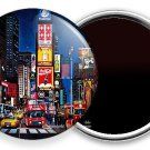 NEW MANHATTAN NEW YORK CITY THAT NEVER SLEEPS TIMES SQUARE REFRIGERATOR MAGNETS