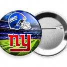 NEW YORK GIANTS FOOTBALL TEAM PIN PINBACK BUTTON MEN SPORTS GAME FAN GIFT IDEA