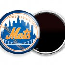 NY NEW YORK METS BASEBALL TEAM FRIDGE REFRIGERATOR MAGNETS SPORTS FAN GIFT IDEA