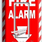 FIRE ALARM DECORATIVE SINGLE GFCI LIGHT SWITCH WALL PLATE COVER ROOM ROOM DECOR