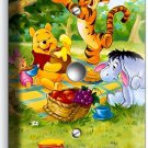 WINNIE POOH TIGGER EEYORE PIGLET LIGHT DIMMER VIDEO CABLE WALL PLATE COVER DECOR