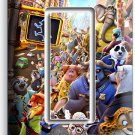 ZOOTOPIA RED FOX NICK JUDY SLOTH FLASH SINGLE GFCI LIGHT SWITCH WALL PLATE COVER