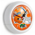 FLORIDA GATORS UNIVERSITY FOOTBALL TEAM LOGO WALL CLOCK MAN CAVE BOYS ROOM ROOM