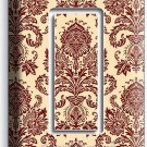 VICTORIAN PATTERN SINGLE GFCI LIGHT SWITCH WALL PLATE COVER KITCHEN DINING ROOM