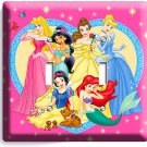 DISNEY PRINCESS KIDS DOUBLE LIGHT SWITCH COVER PLATE SNOW WHITE GIRLS ROOM DECOR