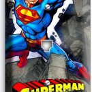 SUPERMAN CARTOON COMICS PHONE TELEPHONE WALL PLATE COVER BOYS BEDROOM ROOM DECOR