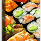 SUSHI ROLLS SASHIMI PHONE TELEPHONE WALL PLATE COVER JAPANESE RESTAURANT DECOR