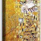 GUSTAV KLIMT ADELE BLOCH GOLD PAINTING PHONE JACK TELEPHONE WALL PLATE ART COVER