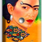 PORTRET FRIDA KAHLO MEXICAN ARTIST LIGHT DIMMER VIDEO CABLE WALL PLATE ART COVER