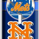NEW YORK METS BASEBALL TEAM SINGLE LIGHT SWITCH WALL PLATE COVER BOYS ROOM DECOR